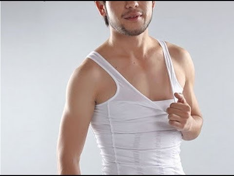 3bfad12f25656 Original Slim N Lift Men Body Shaper Slimming Vest Singlet - YouTube