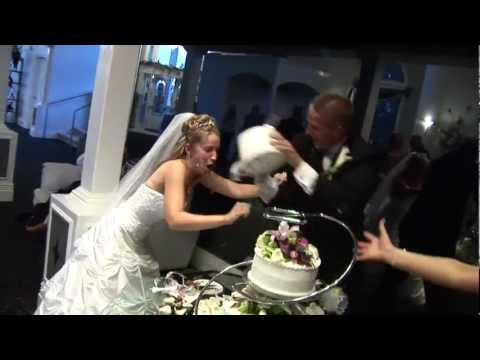 Bloody Cake Smash // Brawl between bride and groom