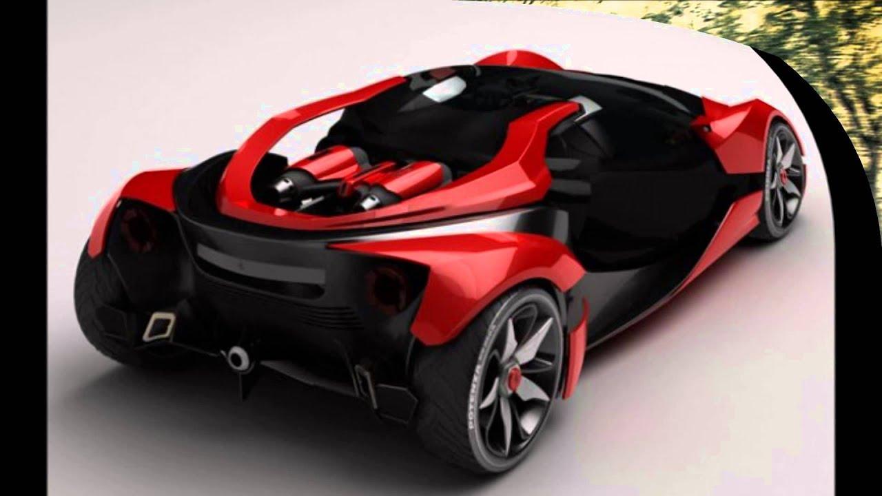 Ferrari Supercar Concepts - YouTube