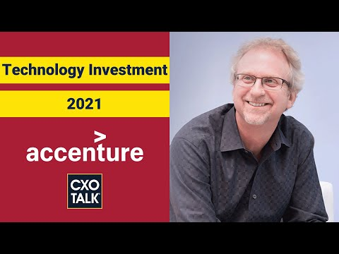 CIO Role and Strategy: Enterprise Technology Trends 2021:  - CXOTalk #700