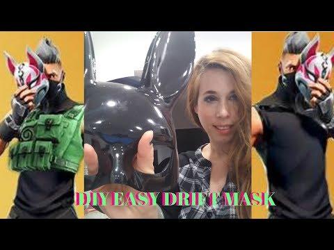 DIY FORTNITE DRIFT MASK EASY!!!