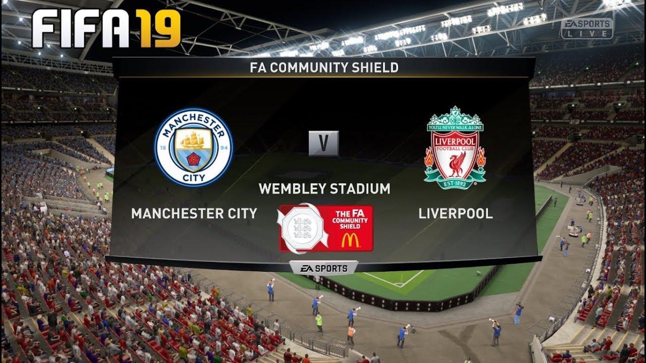 Manchester City Vs Liverpool ! FIFA 19 PREDICTION ! FA Community