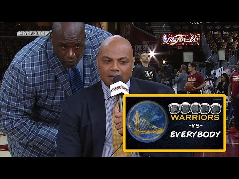 Charles Barkley Plays: Warriors Vs. Everybody