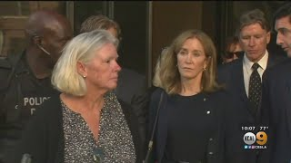 Actress Felicity Huffman Sentenced To 14 Days In Prison For College Admissions Scandal