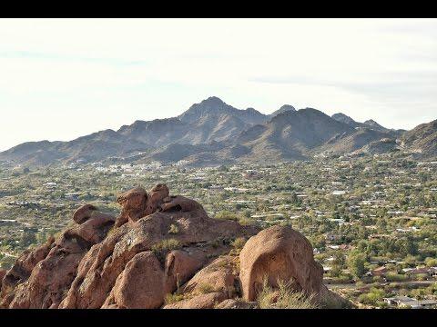 Piestewa Peak in Phoenix, Arizona