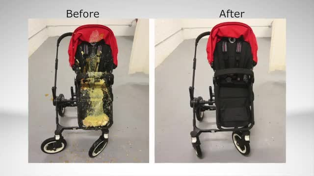 Britax Car Seat With Stroller How To Clean A Filthy Old Stroller Youtube