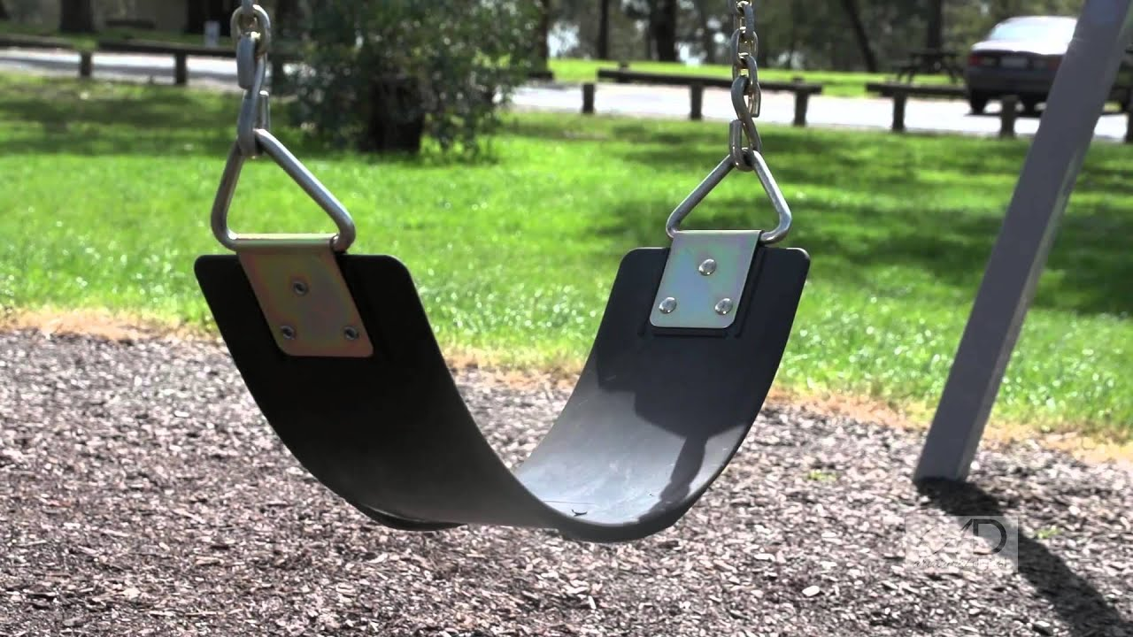 Building Metal Swing Set
