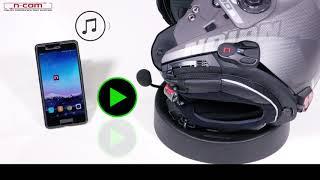 N-COM B901: SMARTPHONE, MUSIC, GPS, FM RADIO, APP
