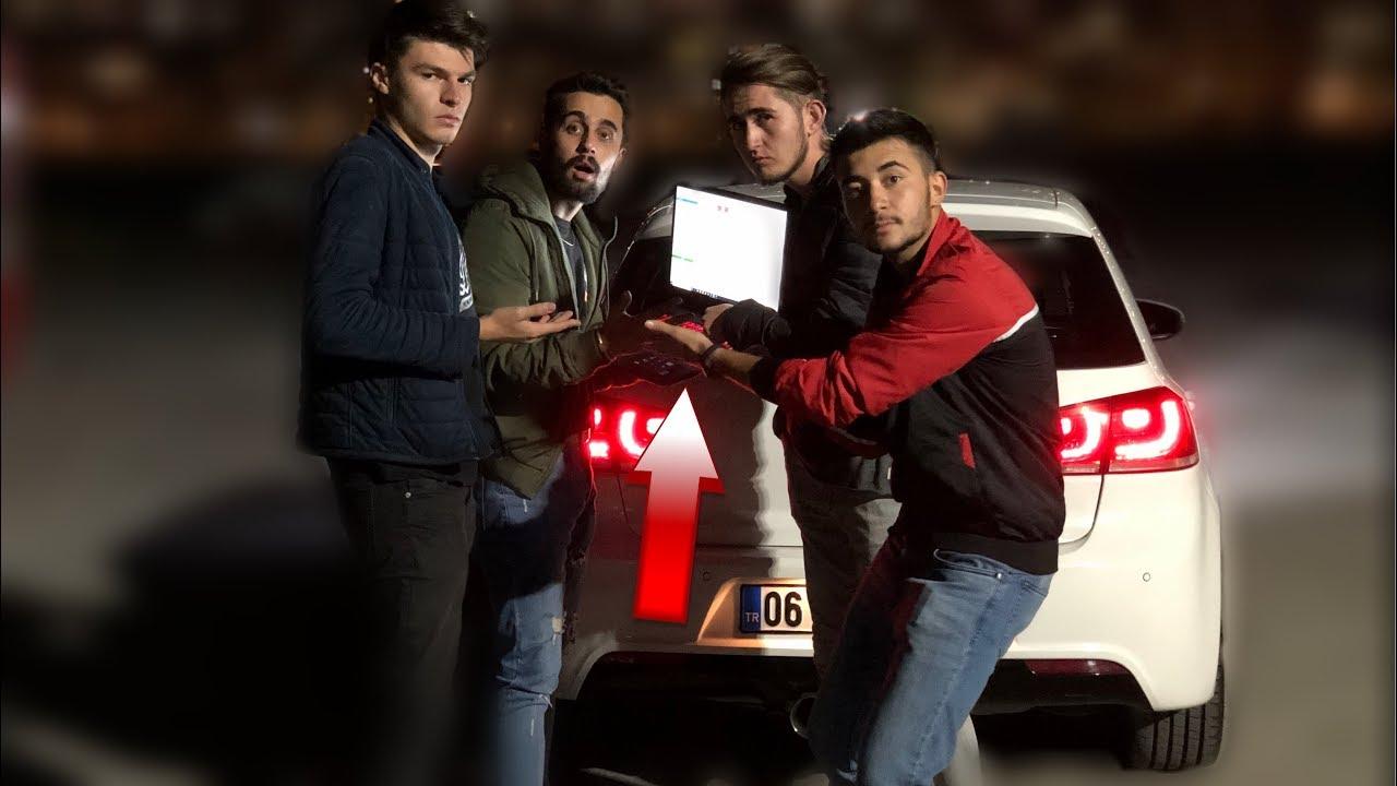 Telefonla Araba Çaldık!!! | Arabaya Sahte Yazılım Yaptık!!