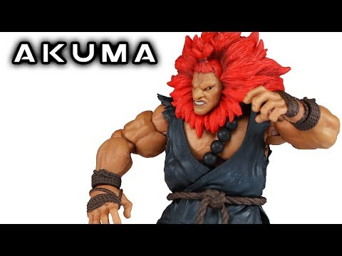 Storm Collectibles AKUMA (Gouki) Street Fighter V Action Figure Review