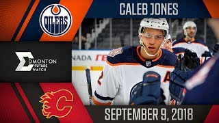 Caleb Jones | 1G 1A vs Calgary | Sep. 9, 2018