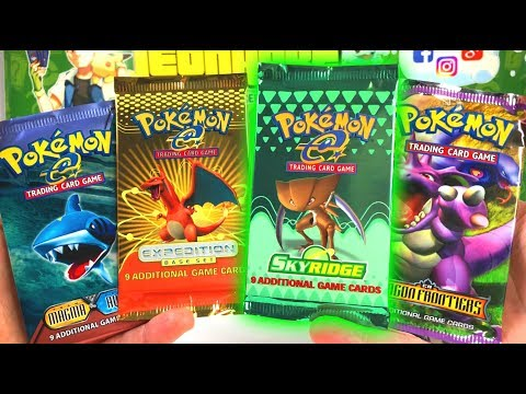 OPENING RAREST VINTAGE POKEMON CARDS PACKS IN THE WORLD!