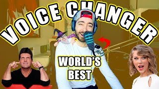 """UNBOXING The """"WORLD's BEST VOICE CHANGER""""!"""