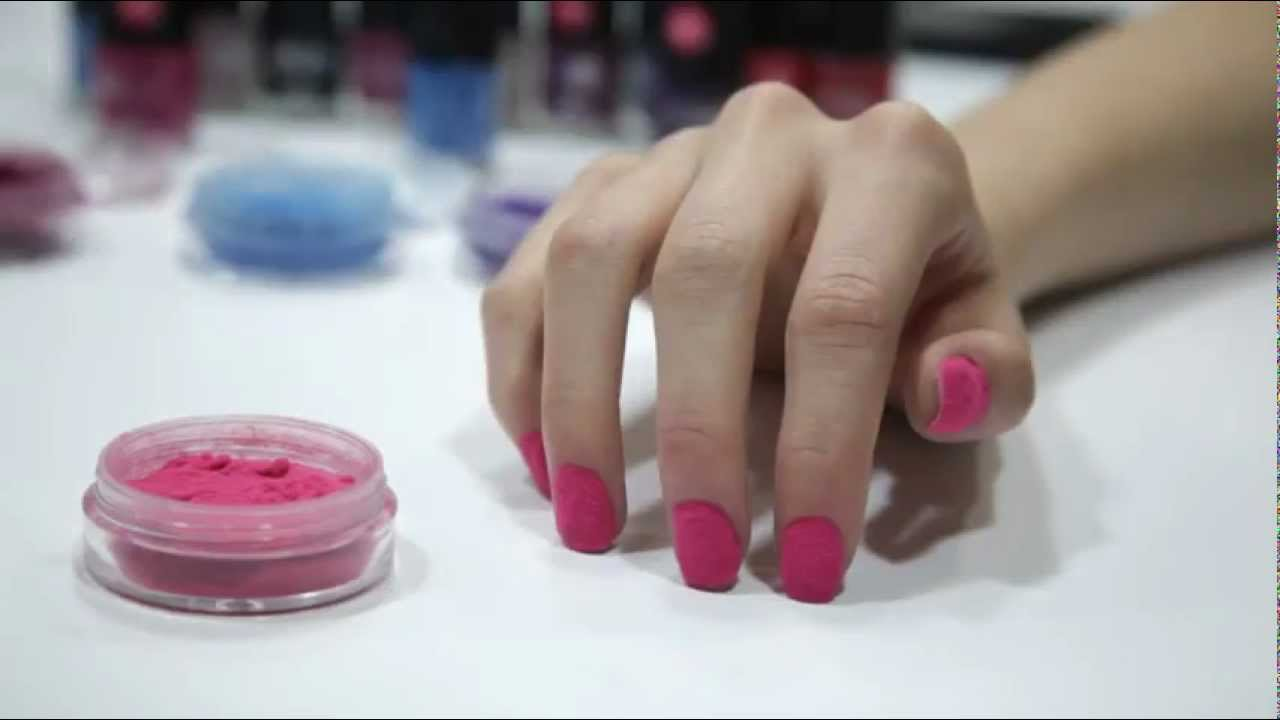 How To Apply Muas Fur Effect Nail Art Youtube