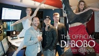 DJ BoBo Feat. Manu-L - SOMEBODY DANCE WITH ME (Remady 2013 Mix) (Making Of - Day 1)