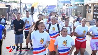 Videoclip Antorcha Juegos Nacionales 2018 Recorrido San Francisco