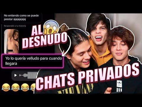 RULETA DE CHATS PRIVADOS - FUERA DE CONTROL // LIBARDO ISAZA FT. CARLOS FERREIRA , JeanCarlo Leon