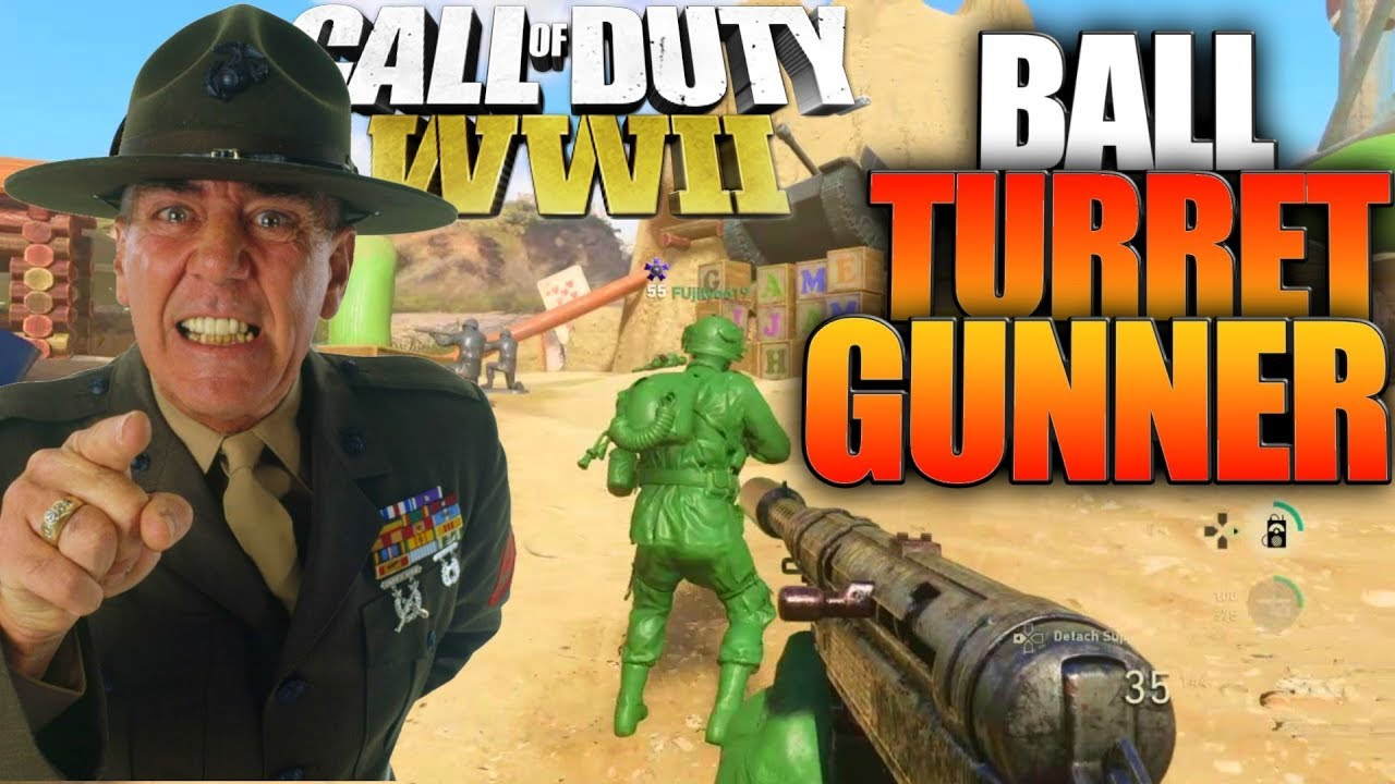 COD WW2 In 2019 LIVE Ball Turret Gunner Gameplay!