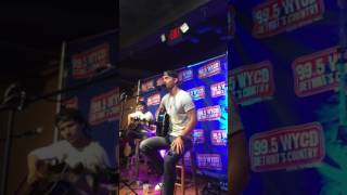 Brett Young telling story about In Case You Didn't Know