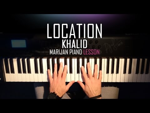 how to play khalid location piano tutorial lesson sheets youtube. Black Bedroom Furniture Sets. Home Design Ideas
