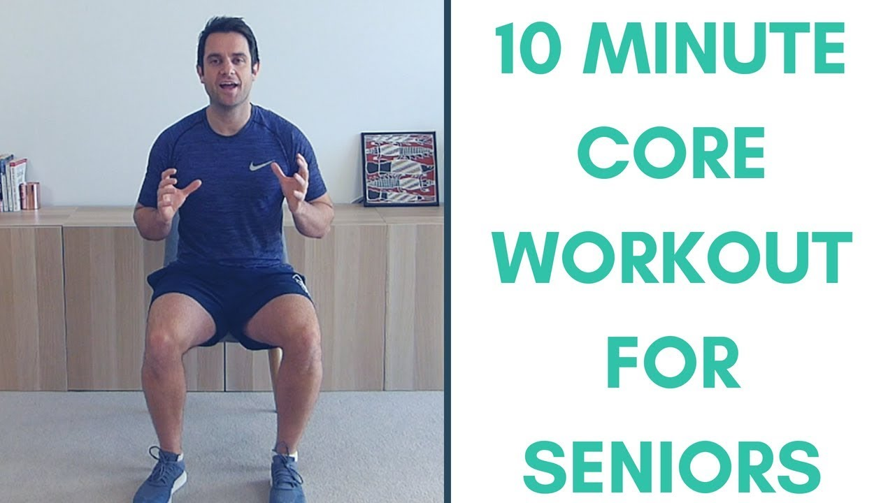 Simple Seated Core Strengthening Workout For Seniors More Life Health Youtube