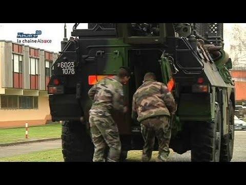 Haguenau: plus grande base de renseignement de France