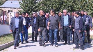 Բակո Սահակյանի աշխատանքային այցը Քարվաճառ