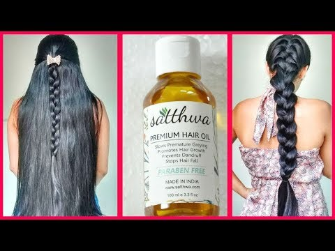 Get Long & Thick Hair with this/Satthwa hair oil review and GIVEAWAY/INDIANGIRLCHANNEL TRISHA