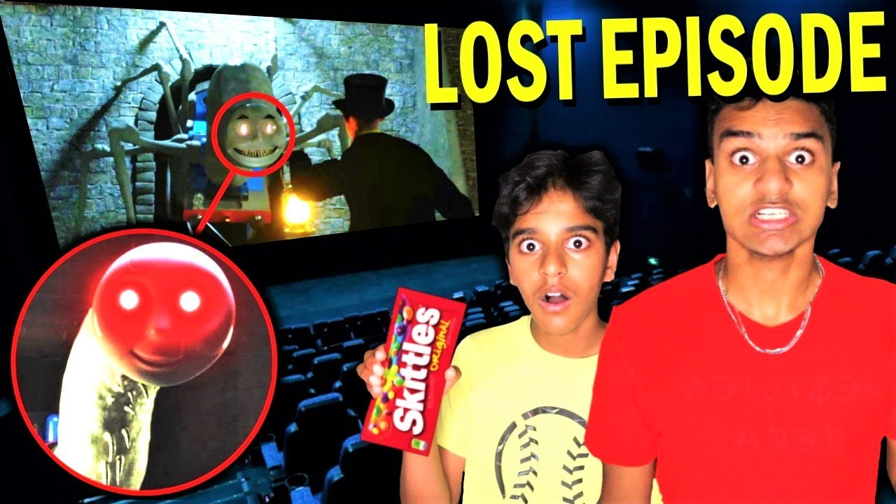 Do Not Watch THOMAS THE TANK ENGINE.EXE LOST EPISODE At 3AM!! *SCARY THOMAS THE TRAIN.EXE*