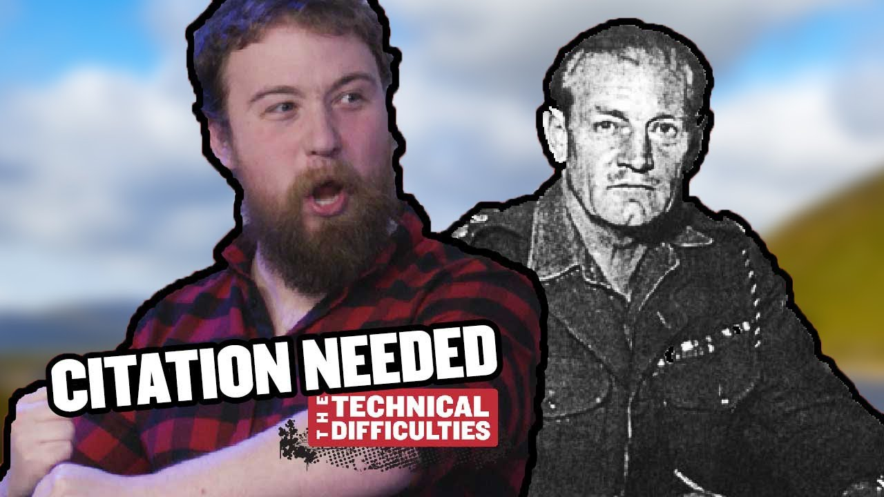 Youtube Thumbnail Image: Jack Churchill and a Live Studio Audience: Citation Needed 6x01