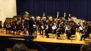 KMEA Ryle Symphonic Band II Assessment at NKU 2017