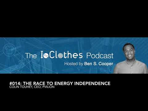 Podcast #014: The Race to Energy Independence One Device at A Time with Colin Touhey, CEO of pvilion