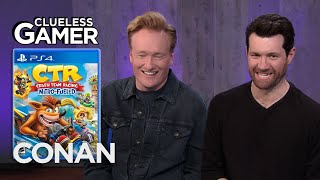 "Clueless Gamer: ""Crash Team Racing Nitro-Fueled"" With Billy Eichner - CONAN on TBS"