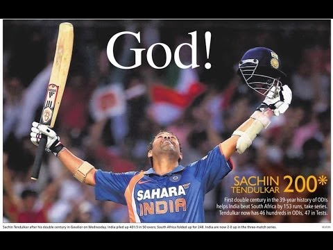 Sachin Tendulkar Dream – A  Motivational | Inspirational Video