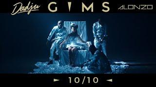 GIMS - 10 / 10 avec Dadju & Alonzo (Clip Officiel)