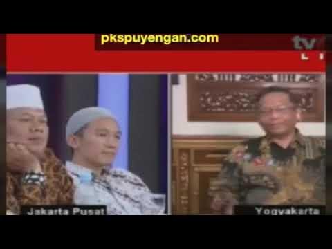ILC: Prof Mahfud MD Babat Habis Felix, Alkotot Dan Eggy Sudjana yang Akan Memperjuangkan Khilafah
