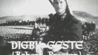 Beau Geste Trailer 1939