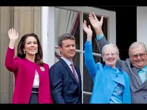 Happy 76th Birthday Queen Margrethe II of Denmark!