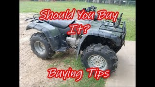 ATV Buying Tips - What to Look For