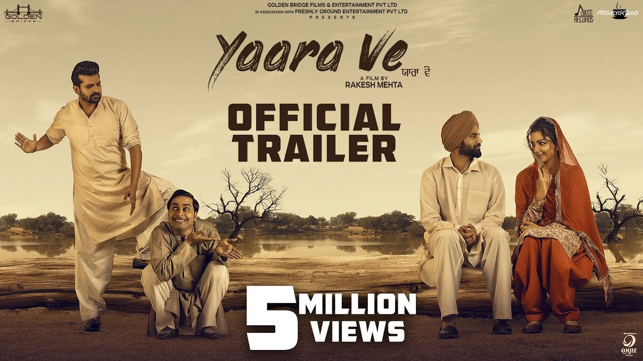 Yaara Ve ( Trailer)| Gagan Kokri | Monica Gill | Yuvraj Hans I Raghveer Boli | 5th April 2019