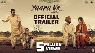 Yaara Ve ( Trailer)| Gagan Kokri | Monica Gill | Yuvraj Hans I Raghveer Boli | 5th April 2019