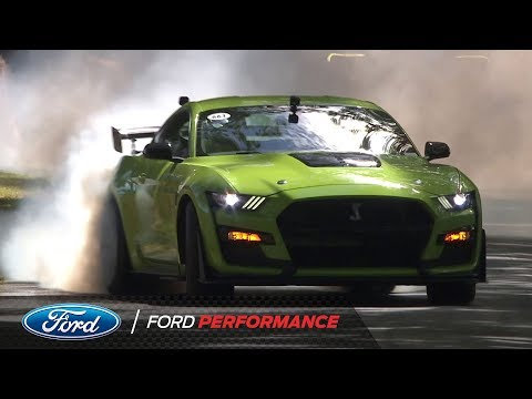 All-New 2020 Ford Mustang Shelby GT500 Climbs The Hill At Goodwood | Ford Performance