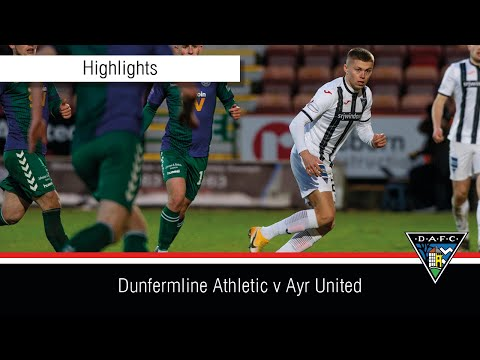 Dunfermline Ayr Utd Goals And Highlights