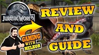 Jurassic World Game Review | Jurassic World Tips and Tricks | Beginners Guide Jurassic World Game