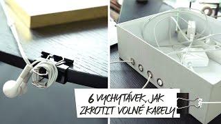 Šest vychytávek, jak zkrotit volné kabely | WESTWING INSPIRACE