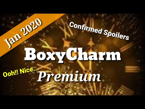 January Games With Gold 2020.Boxycharm Premium January 2020 Spoilers