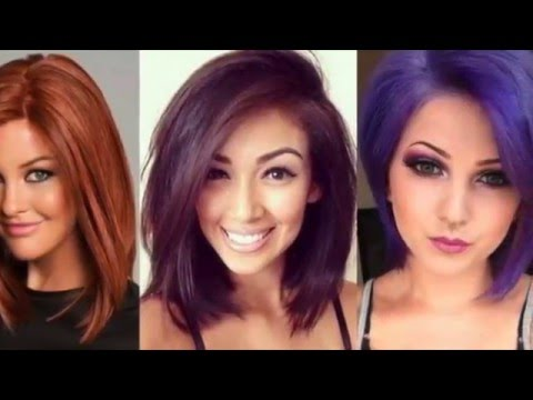 Images Of Hair Color And Styles New Hair Color Idea Hair Style 2016 Fashion  Youtube