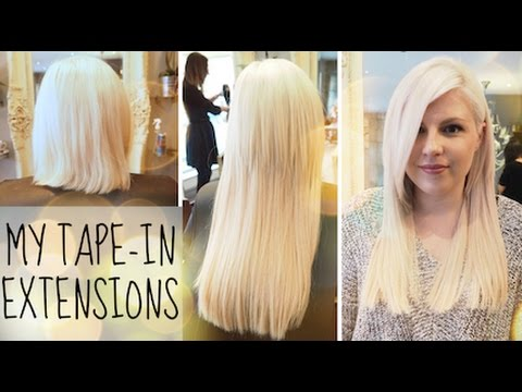 Tape in extensions hair salon