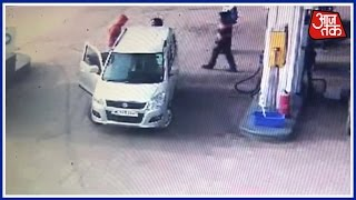 100 Shehar 100 Khabar: Lady Professor Of Delhi University Beaten By Man At Petrol Pump
