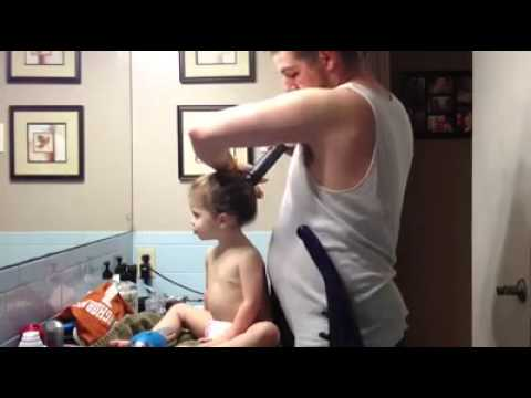 como peinar a tu niña super fácil :p - youtube